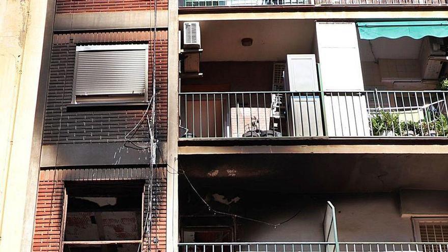 Una mujer incendia su casa en Valencia tras conocer que iba a ser desahuciada