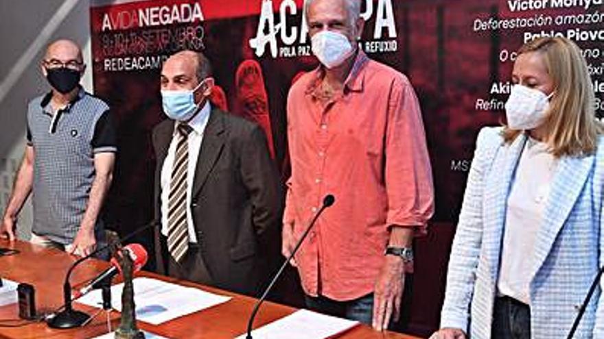 Acampa regresa para denunciar el expolio de recursos y el drama de los refugiados