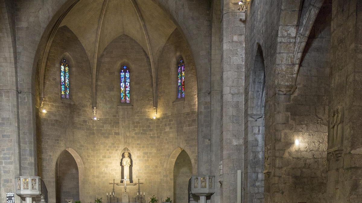 L'església de Sant Pere de Figueres