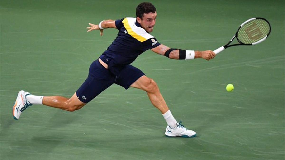 Roberto Bautista derrotó a Nick Kyrgios en la primera ronda del US Open.