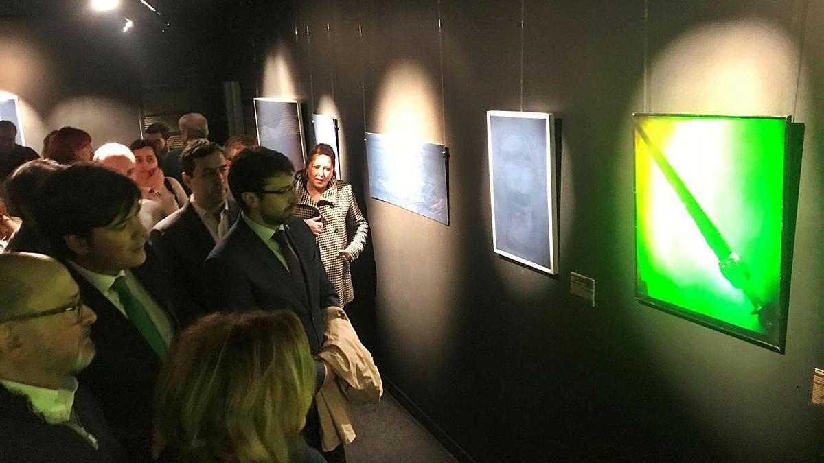 Acto de inauguración del Museo 3D, celebrado en enero del pasado año.   J. V.
