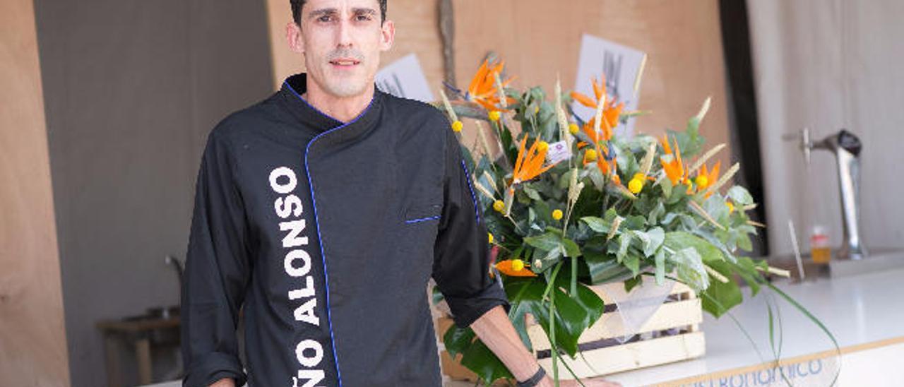 El chef Toño Alonso Toño.