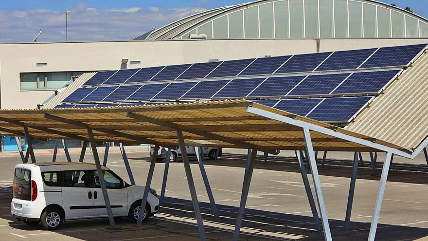 Solo un 0,6 % de la energía consumida en Sagunt procede de fuentes renovables