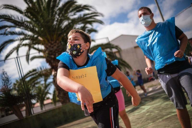 Campus Multideporte Adaptado para personas con discapacidad en el pabellón Alberto Delgado