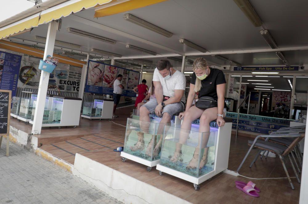 El turismo regresa a s'Arenal