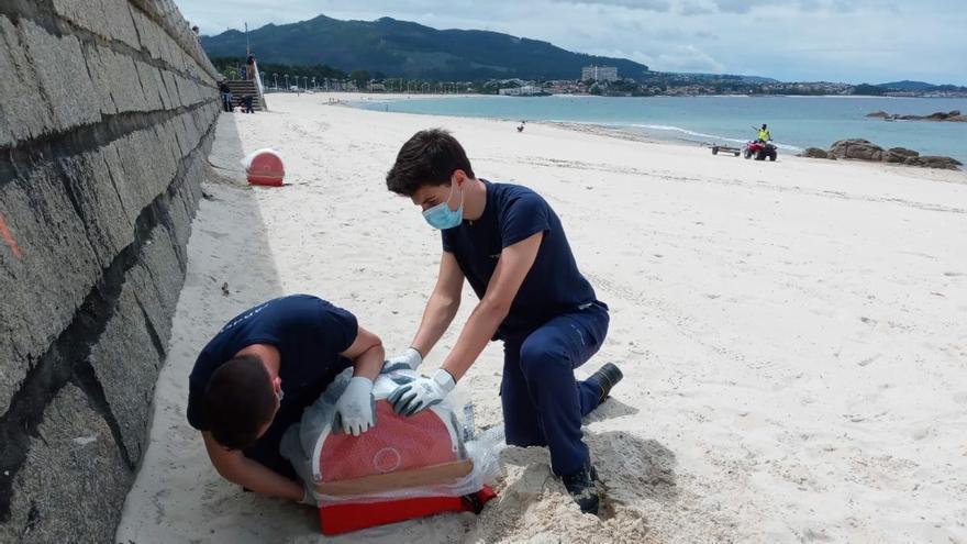 Arranca la parcelación de las playas de Samil y O Vao