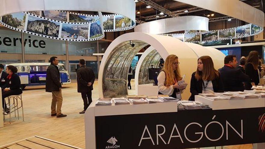 Turismo sostenible, Goya y Camino de Santiago representan a Aragón en Fitur