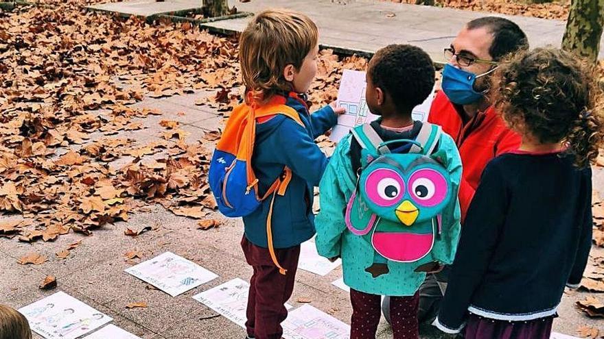 Campanya d'absentisme a l'escola La Vall d'Osor per protestar contra les mascaretes