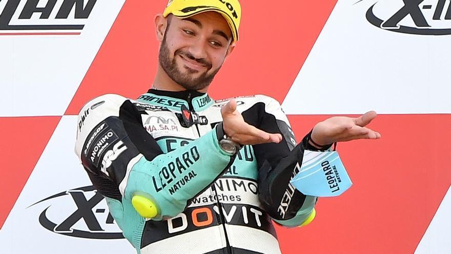 Dennis Foggia, ganador de Moto3 2021 en el circuito de de Misano Marco Simoncelli