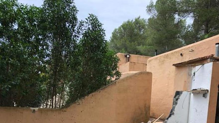 Derribada una casa ilegal en Ibiza denunciada hace casi 14 años