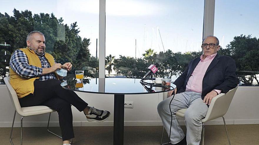 Emilio Gutiérrez Caba: «Hoy vamos a atacar al virus con este espectáculo en homenaje a Delibes»