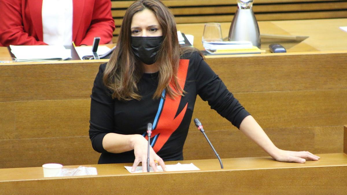La diputada de Compromís, Mònica Àlvaro