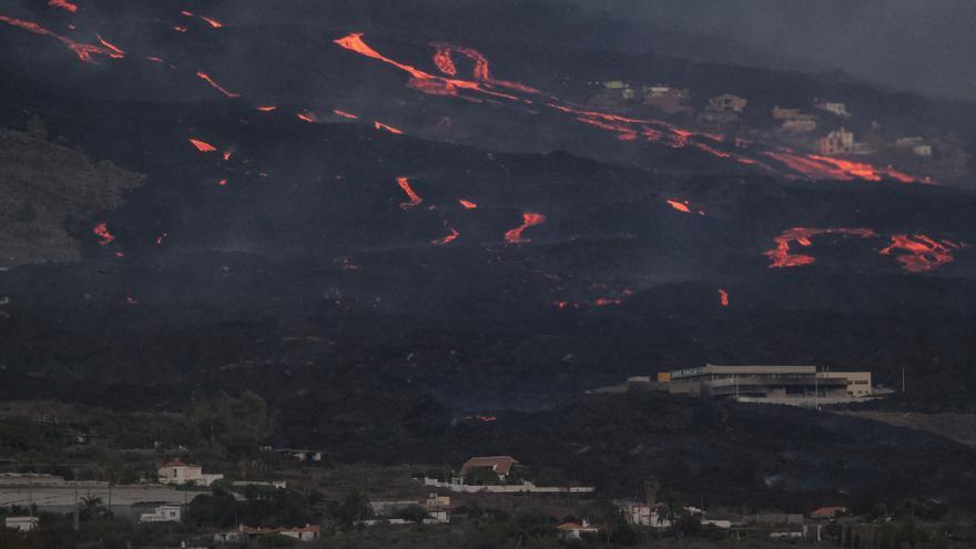 Horas decisivas para conocer el futuro de La Laguna por la erupción de volcán de La Palma