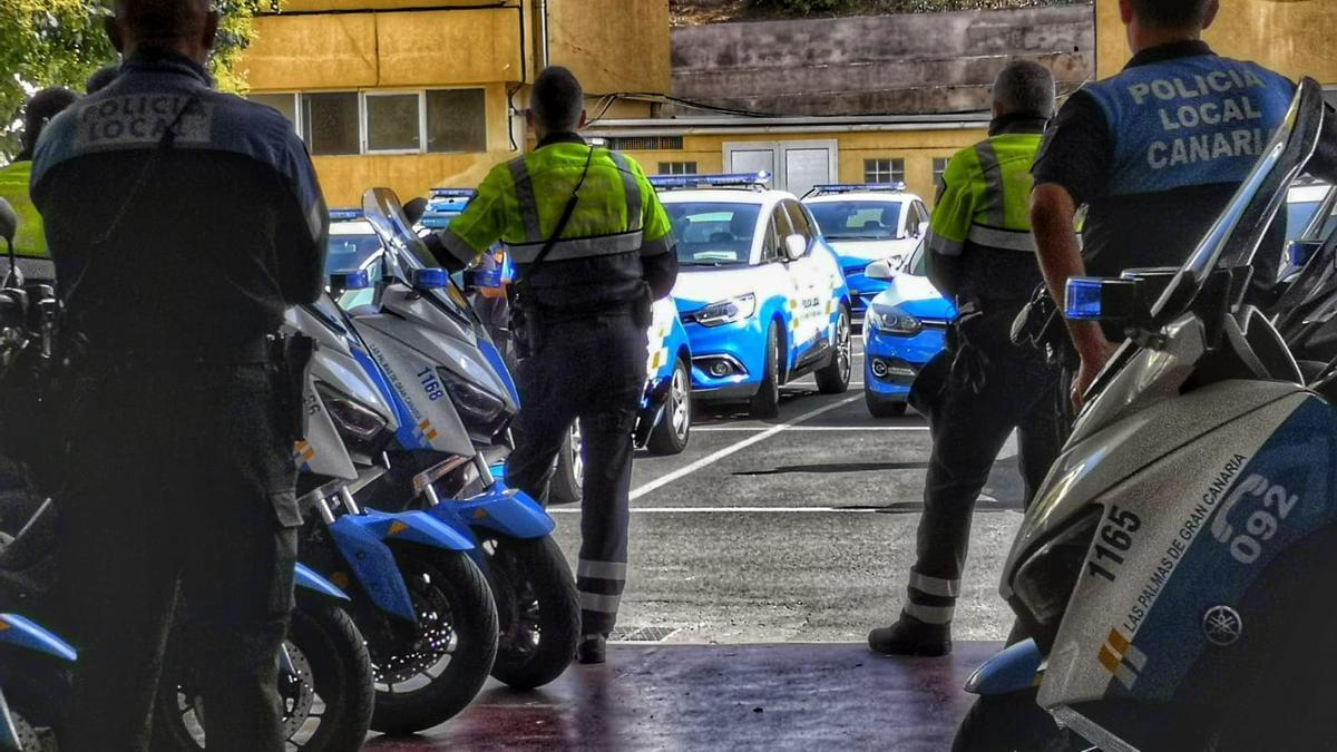 Cinco personas implicadas en varios robos durante la última semana en Las Palmas de Gran Canaria