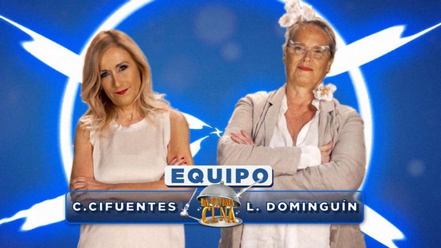 Cifuentes se pone el delantal: será la próxima concursante de 'La última cena' con Lucía Dominguín