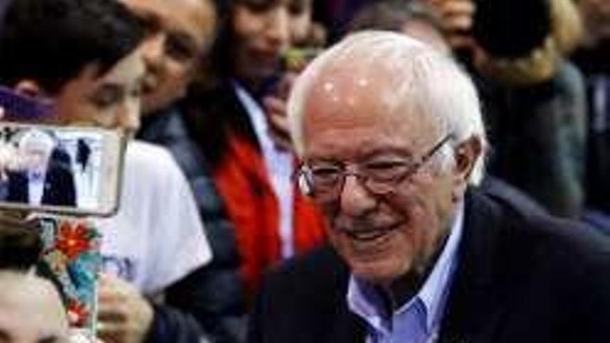 Sanders parte como favorito en las primarias de hoy en Nuevo Hampshire