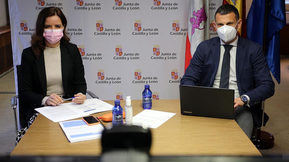Constitución de la Mesa del Empleo en Castilla y León el pasado mes de febrero.