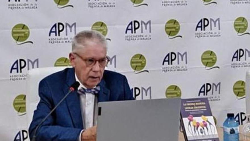 Pérez Ariza: «Creer en la prensa es contraer un compromiso ético con la verdad»