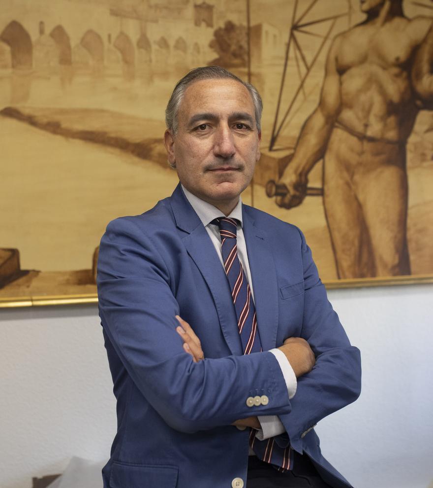 Carlos J. Prieto. Cámara Oficial de Comercio, Industria y Servicios de Zamora. Foto: Emilio Fraile