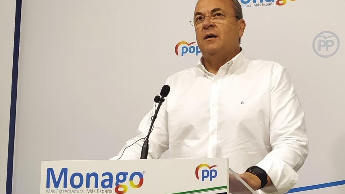Monago anuncia que rescindirá el contrato de Ambulancias Tenorio si gobierna