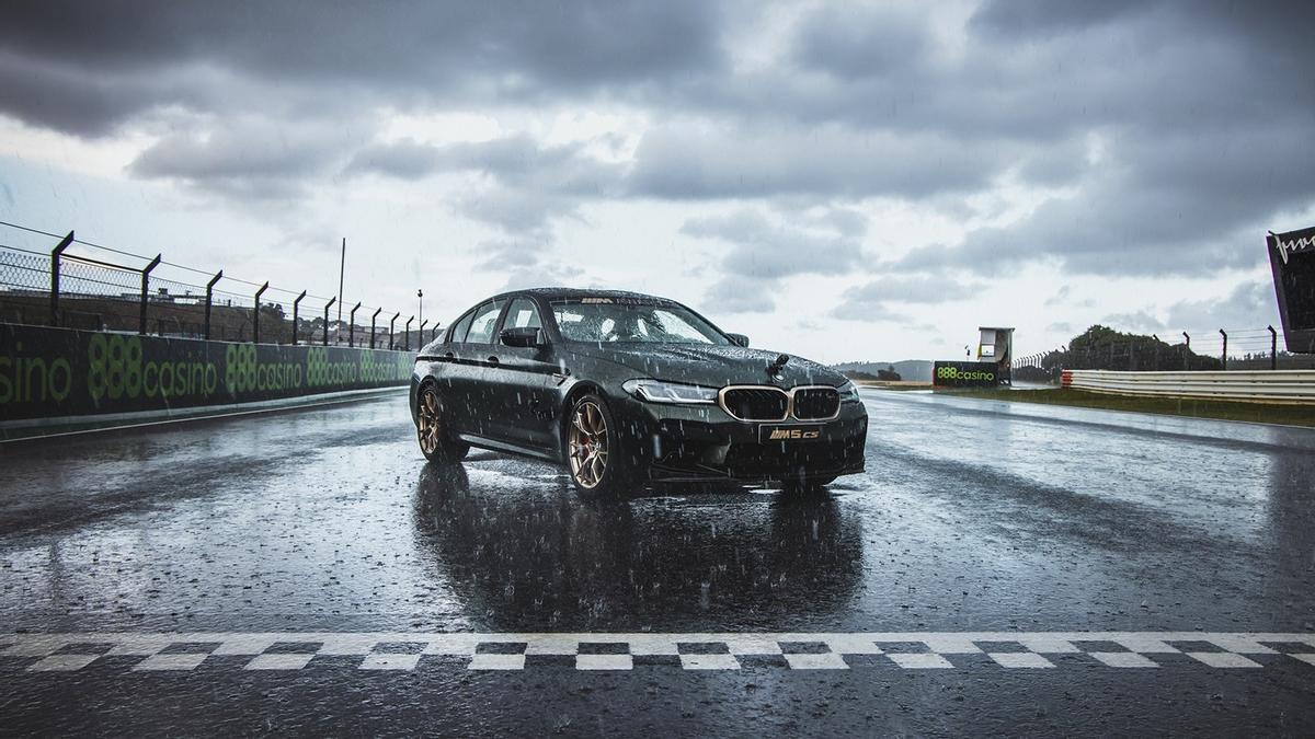BMW M5 CS, el otro trofeo de MotoGP