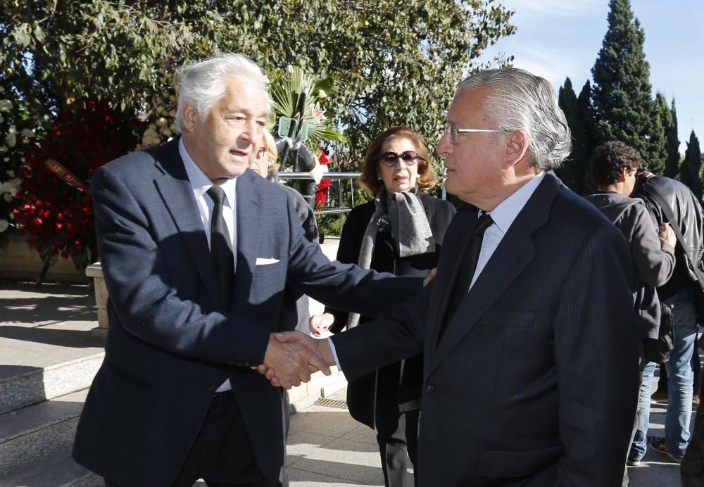 A la derecha, Silvestre Senent, ex teniente de alcalde de Hacienda y amigo íntimo durante muchos años