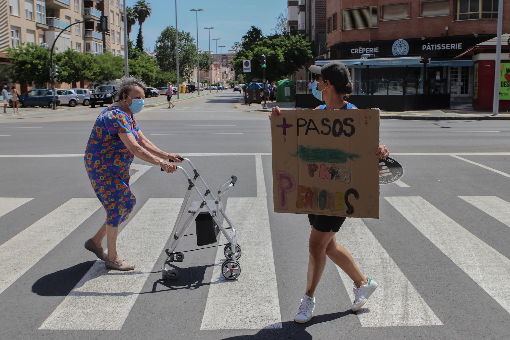 Marcha crítica en bici por Cartagena