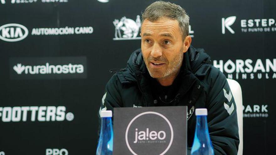 Descubre lo que ha dicho Óscar Cano antes de la reválida frente al Barcelona B