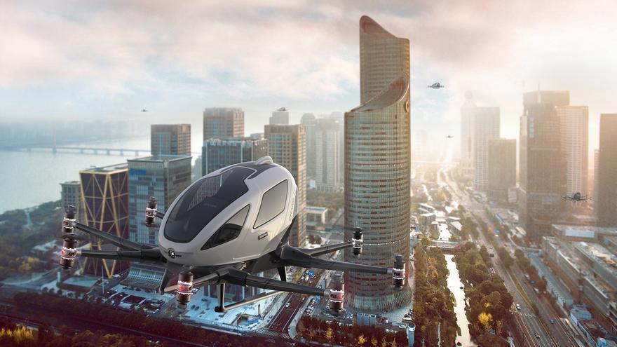 La Galicia de 2022 verá un servicio de taxi aéreo pionero en Europa