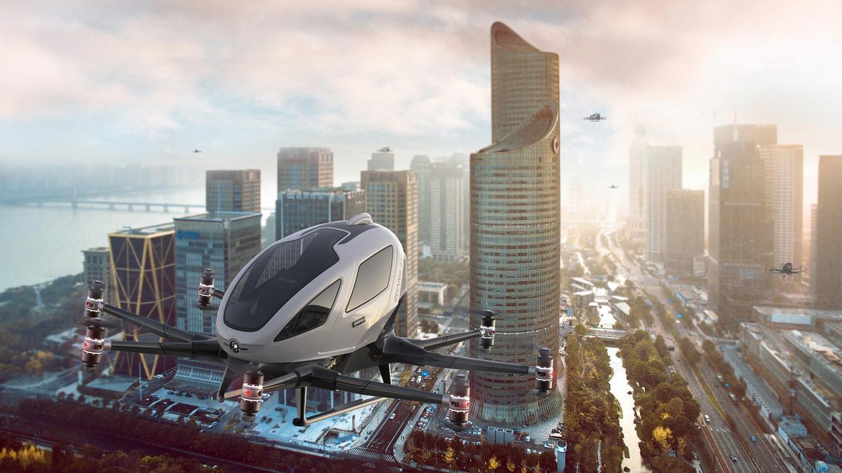 Galicia será escenario de una demostración de 'aerotaxis' en 2022.