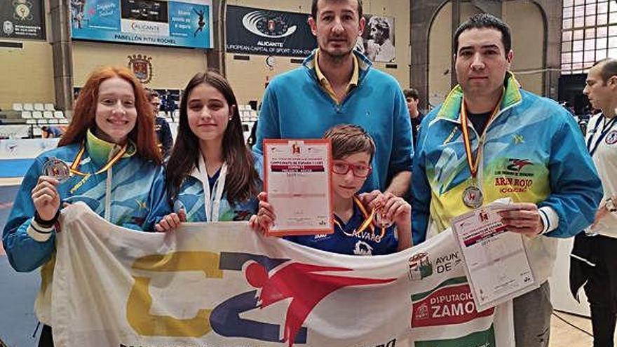 El Ternera de Aliste logra cuatro medallas en el Nacional de Clubes
