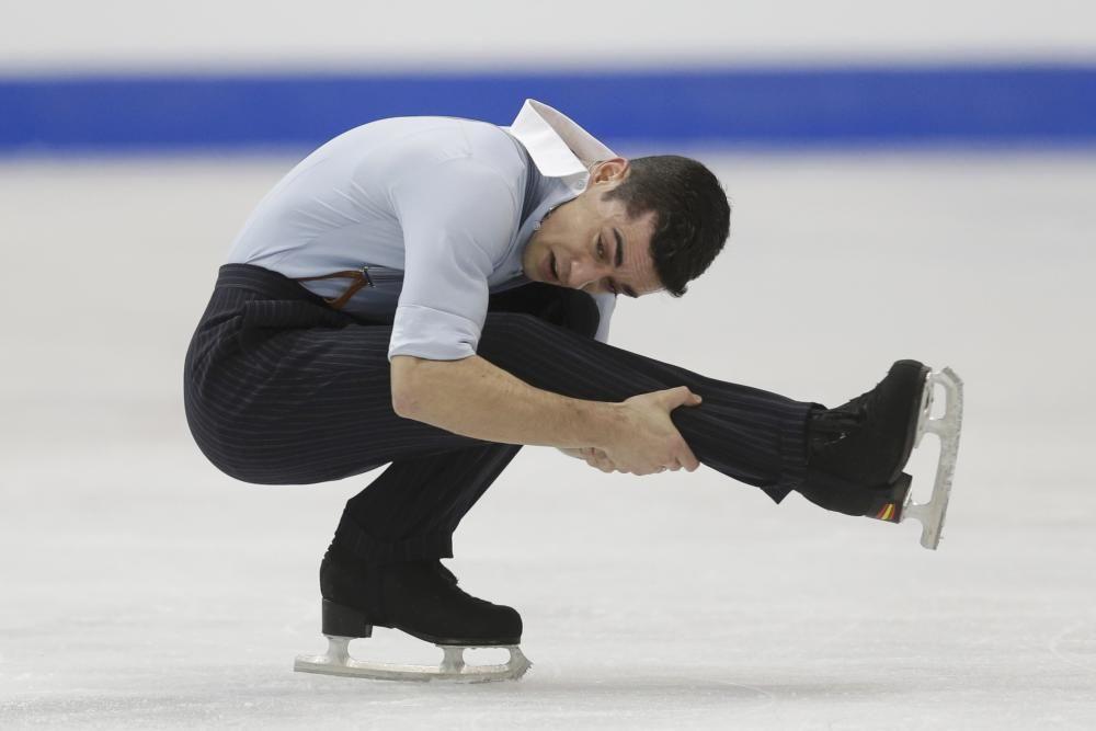 El patinador Javier Fernández anuncia su retirada.