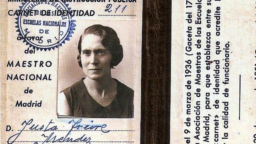 La zamorana Justa Freire, maestra de las Trece Rosas, pierde su calle en Madrid