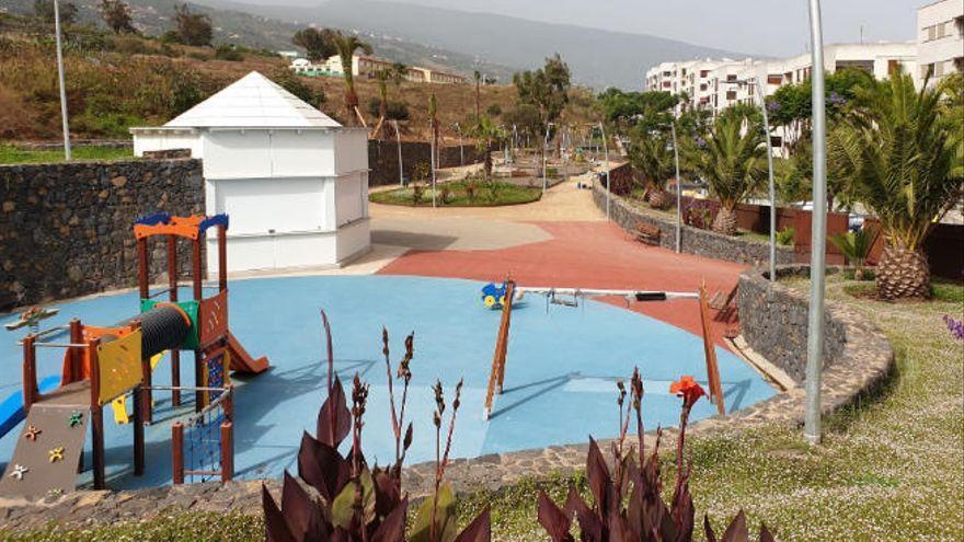 El Cabildo de Tenerife concluye la entrega del Parque de Opuntia a La Orotava