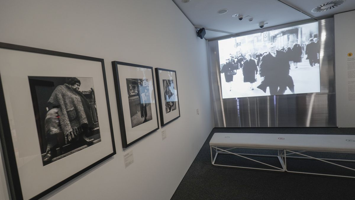 Una de las salas de exposición de CaixaForum Palma.