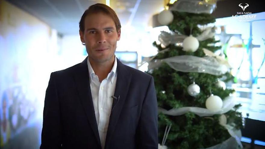Mensaje navideño de Nadal: «De nosotros también depende que las cosas no empeoren»