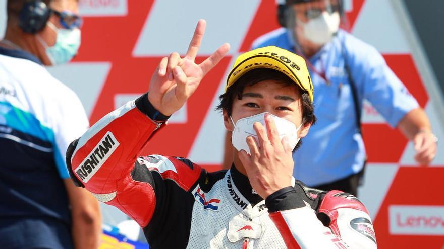Ogura sorprende y consigue su primera pole en Moto3