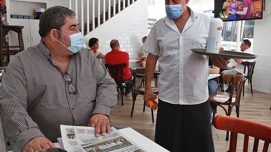 """Ourense, Barbadás y O Barco suben al nivel alto y la hostelería clama: """"Es inadmisible"""""""