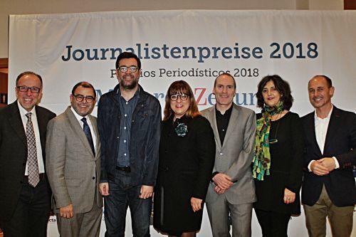 MZ-Chefredakteur Ciro Krauthausen begrüßt die Ehrengäste.
