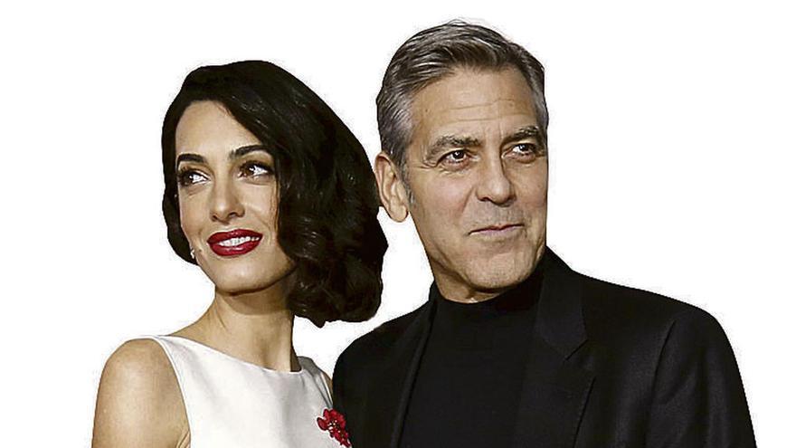Clooney no sabe el sexo de sus gemelos