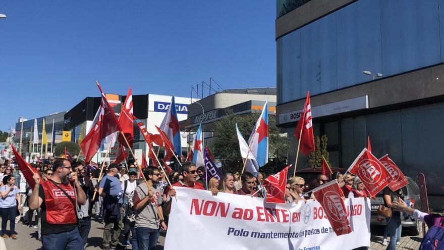El 80% de la plantilla de Bosch secunda la huelga contra el ERE temporal para 542 trabajadores
