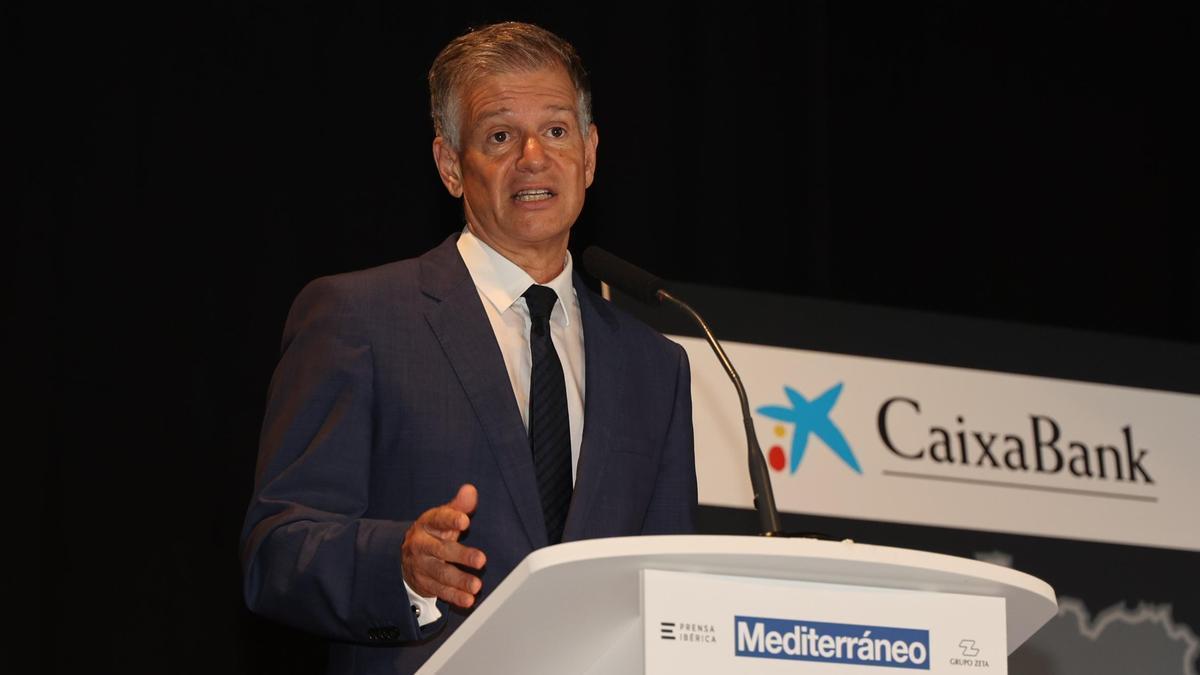 Xicu Costa, director territorial de CaixaBank en la Comunitat Valenciana.