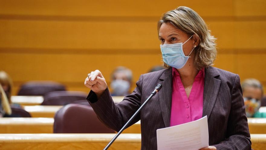 "María Salom acusa a Pablo Iglesias de ""machista"" e ""incoherente"" por el caso Dina"