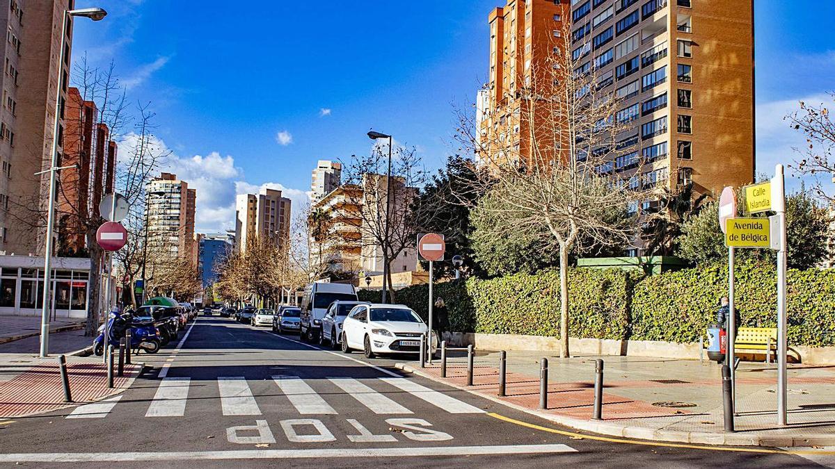 El barrio de Els Tolls de Benidorm donde se instalará el nuevo transformador.