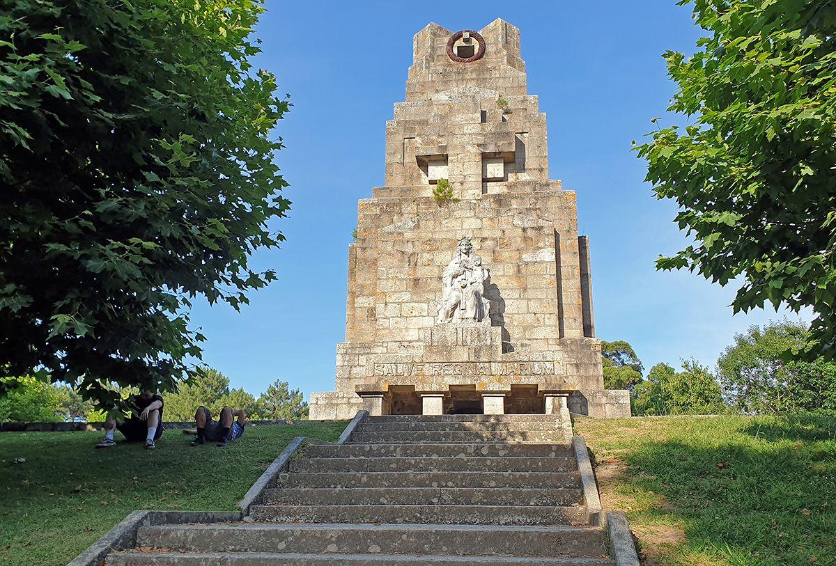 El monumento, hoy en día