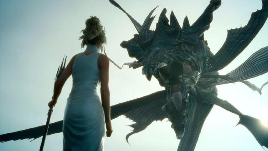'Final Fantasy XV' calienta motores