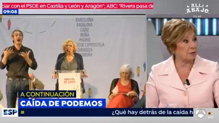 La confesión sexual de Celia Villalobos en 'Espejo público'