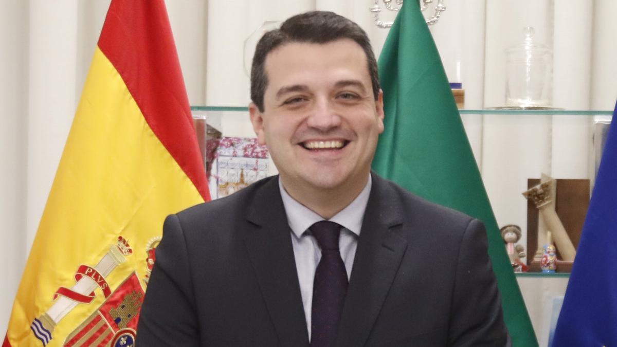 José María Bellido, alcalde de Córdoba.
