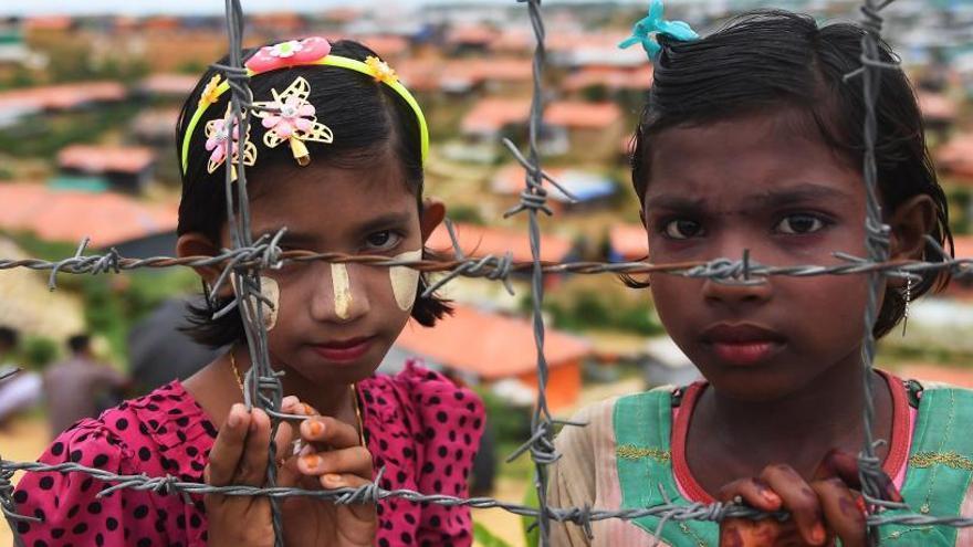 El éxodo rohingya cumple un año sin visos de solución
