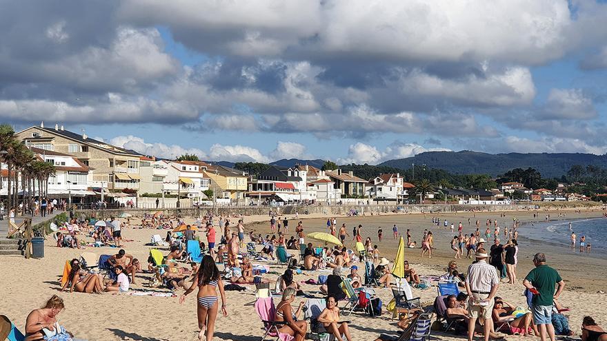 El tiempo de verano vuelve a medias a Galicia